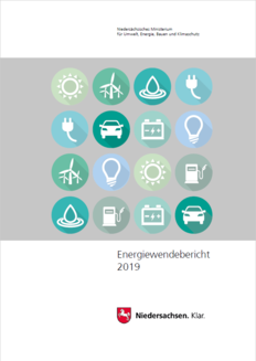 Cover vom Energiewendebericht 2019